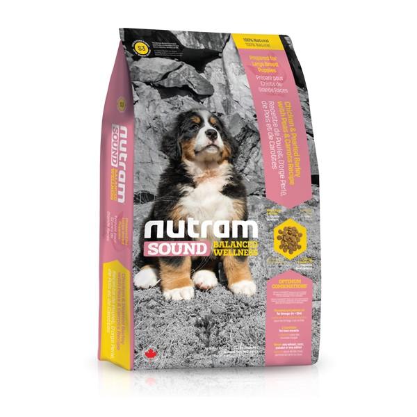 Nutram S3 Sound Puppy Large Breed krmivo pro štěňata velkých plemen 13,6 kg